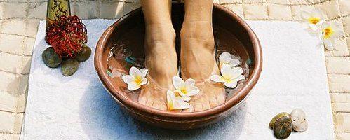 Secretos de belleza ayurveda para los pies y el cuerpo